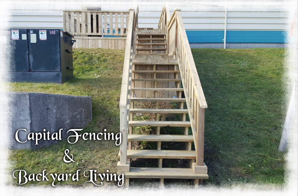 10x14 Deck with Stairs