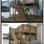 10X12 Deck with 2, 4ft Landings and stairs