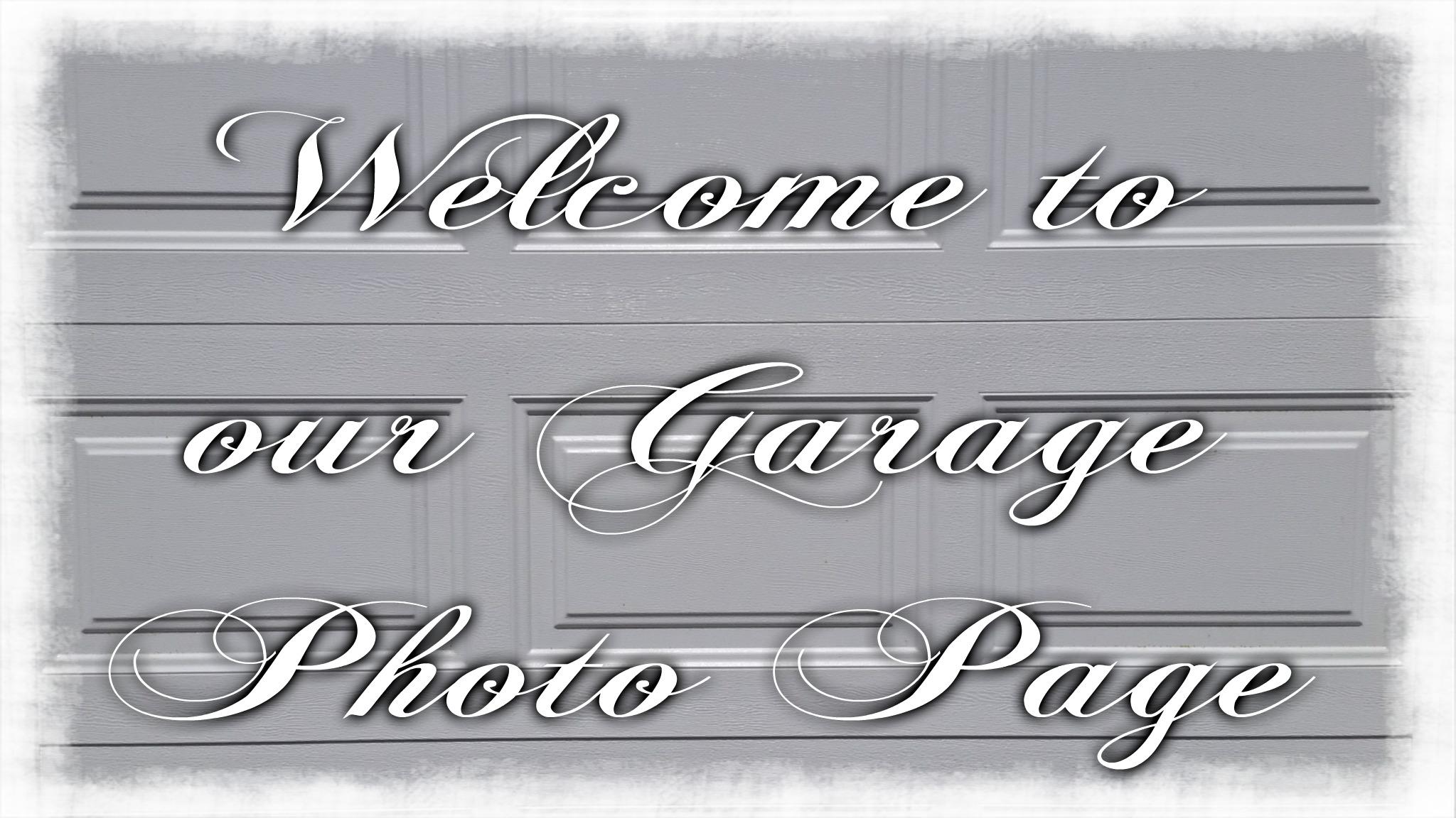 Garage page