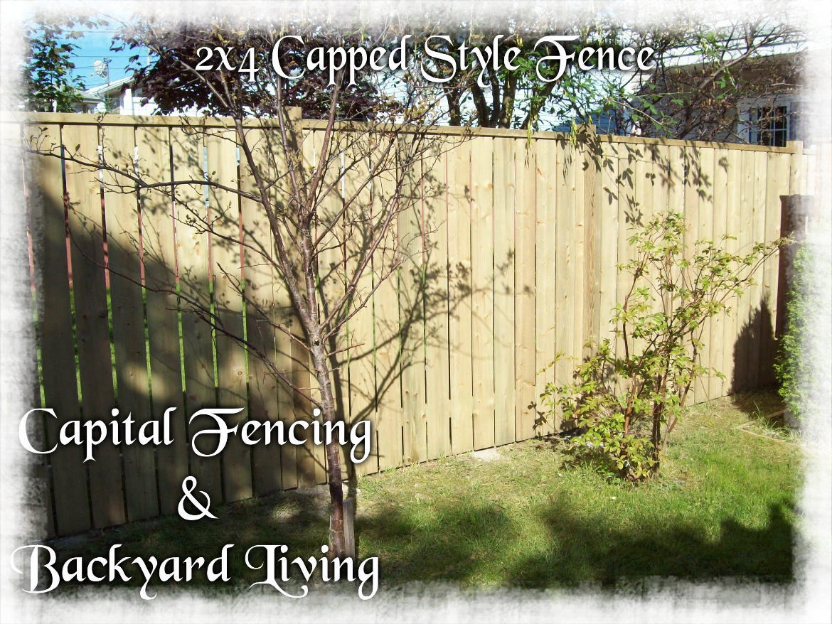 Fences | Capital Fencing and Backyard Living