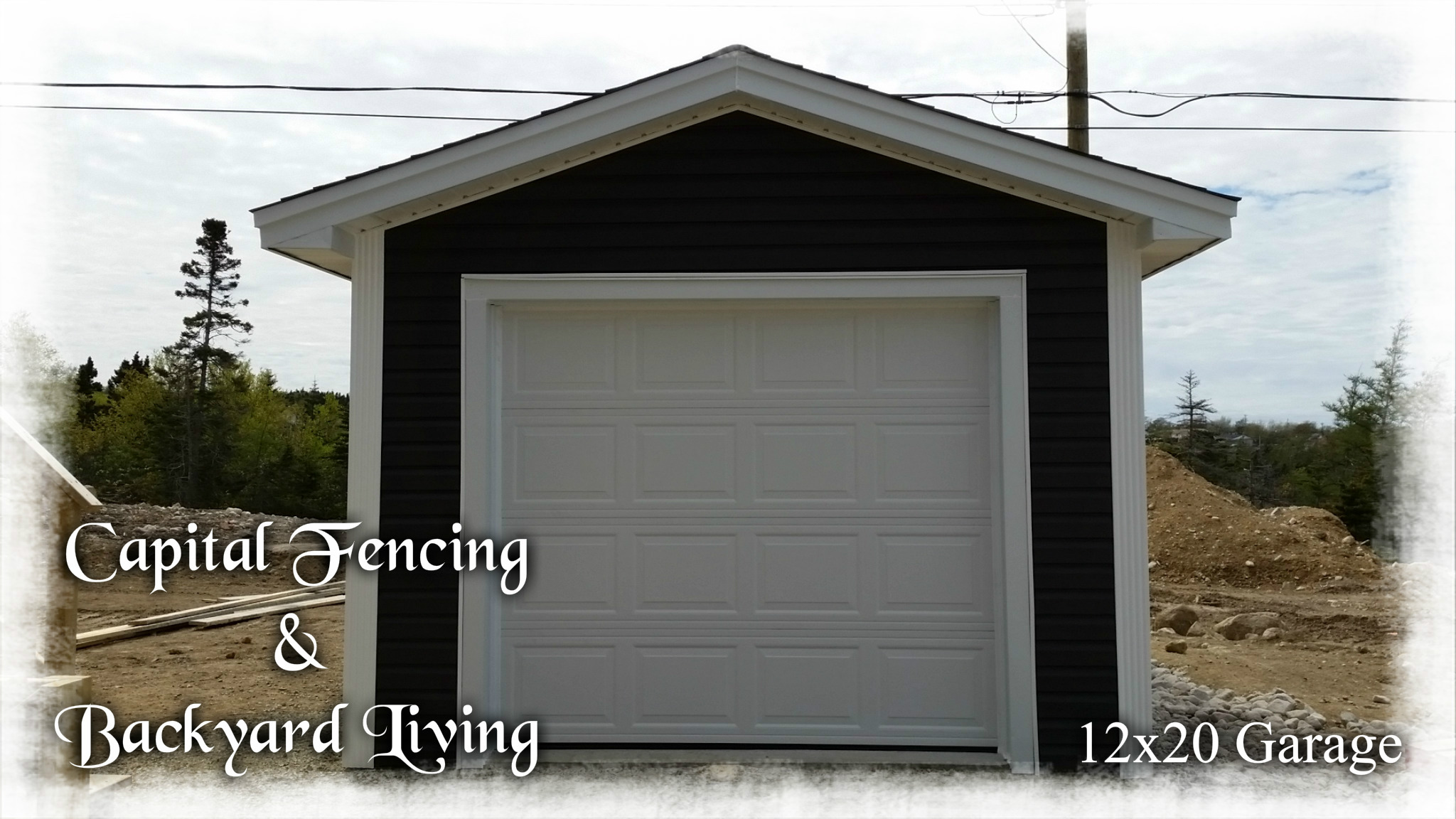 Garages Capital Fencing And Backyard Living